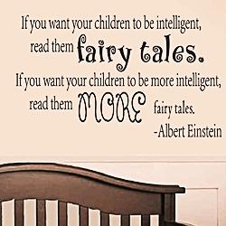 Le conseil d'Einstein : raconter des histoires de fées aux enfants