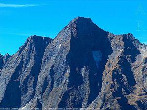 Le Mont Valier vu depuis le pic de Fonta