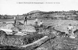 Le chantier de fouilles de Saint-Bertrand