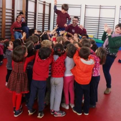 Ens visiten els Castellers de La Jove de Sitges