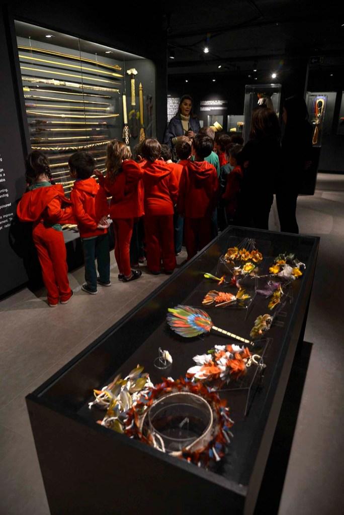 Adornos, artefatos e armamentos indígenas