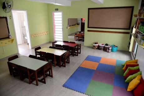 Sala de aula da educação infantil