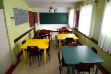 Sala de aula do ensino fundamental