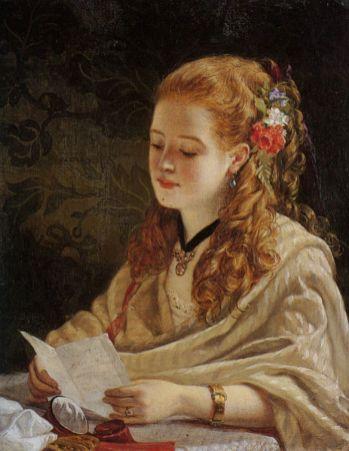 William Maw Egley: A Carta, 1863.
