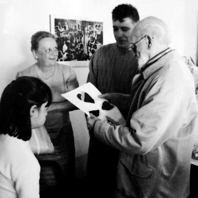 Visita do educador francês André Lapierre, criador do método da psicomotricidade relacional