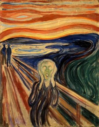 Edvard Munch: O Grito, 1893.