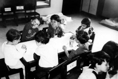 Sala de educação infantil da primeira sede