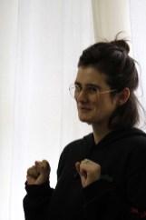 Maria Carolina Almeida - Escola Terra Firme - Encontros Literários do OItavo, 2019 - Foto Luiz Geremias