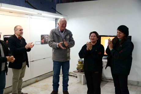 Elwino Naser, Hermes Palumbo, Carmynha Santos e Liz Volino