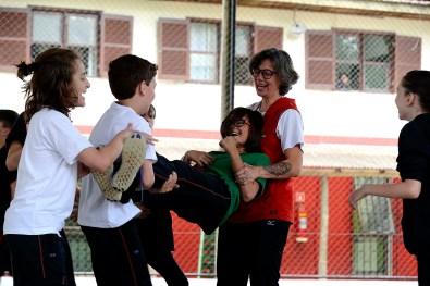 Escola Terra Firme - Educação Física, 6° Ano 2019, professora Daniela Carneiro - Foto Gilson Camargo