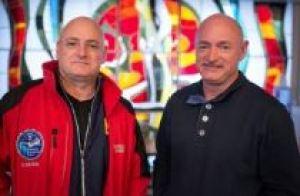 Astronautas gemeos - Scott Kelly e Mark Kelly