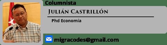 Columnista Julian Castrillon en escolombia