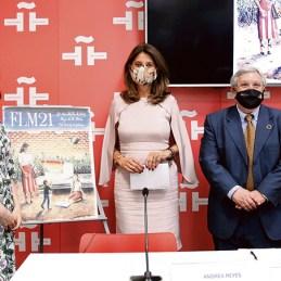 Andrea Reyes, Marta Lucía Ramírez y Manuel Gil1