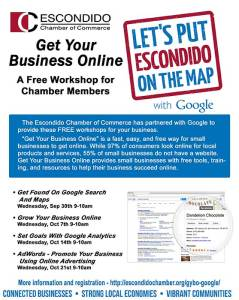 Escondido Google Workshop 2015