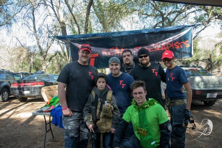 Say hello -- nicely -- to Team Therapist at Mr. Paintball USA.