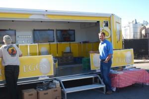 Ryan Armstrong, president of Armstrong Egg Farms.