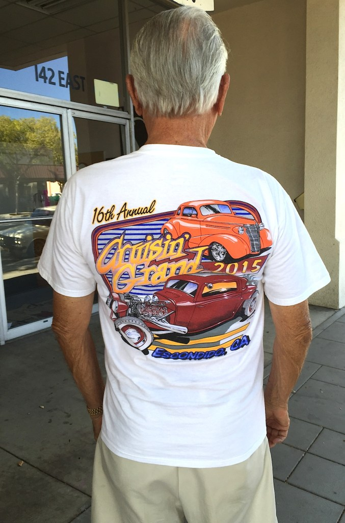 T-shirts salute the 16th Annual Cruisin' Grand. It we will be back better than ever in 2016, organizers say.