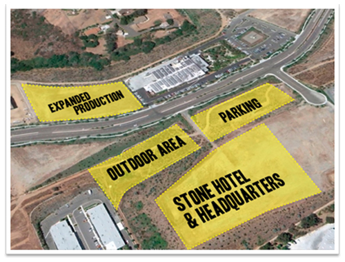 Stone Brewing proposed, then quickly dropped, plans for a new Escondido hotel.