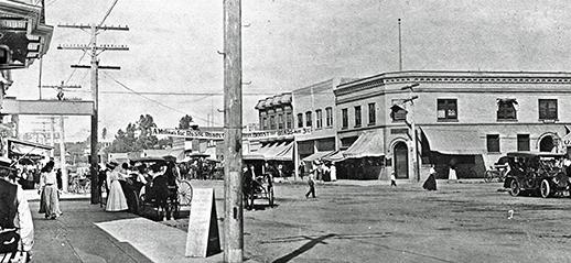 Historic Grand Avenue c. 1927