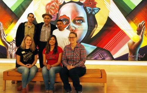 CSUSM and Cal Center exhibit crew.