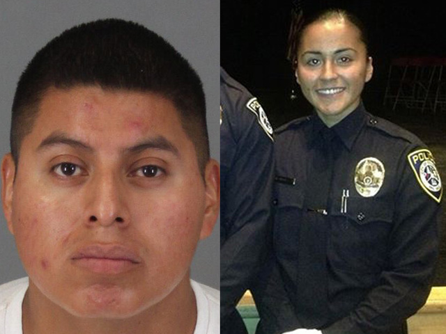 Freddy Perez-Rodas, and murdered wife Escondido Police Officer Laura Perez.