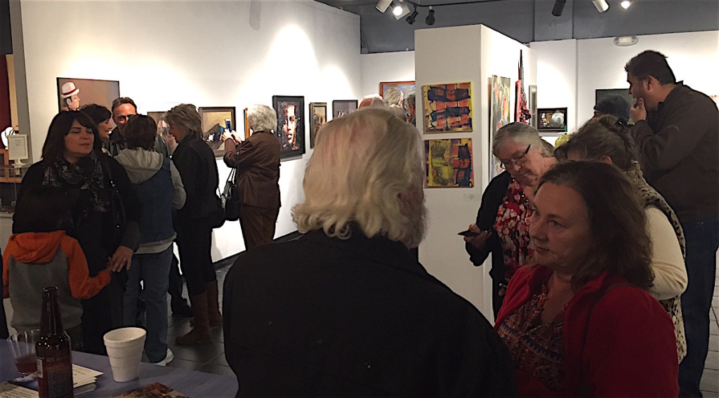 The scene Saturday at Municipal Gallery/Escondido Arts Partnership.