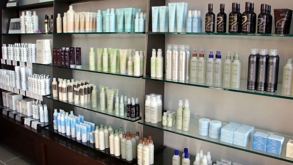 The Hair Lounge uses natural products that work.