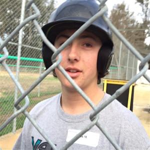 Valley Center High School sophomre second baseman Dylan McFadden.