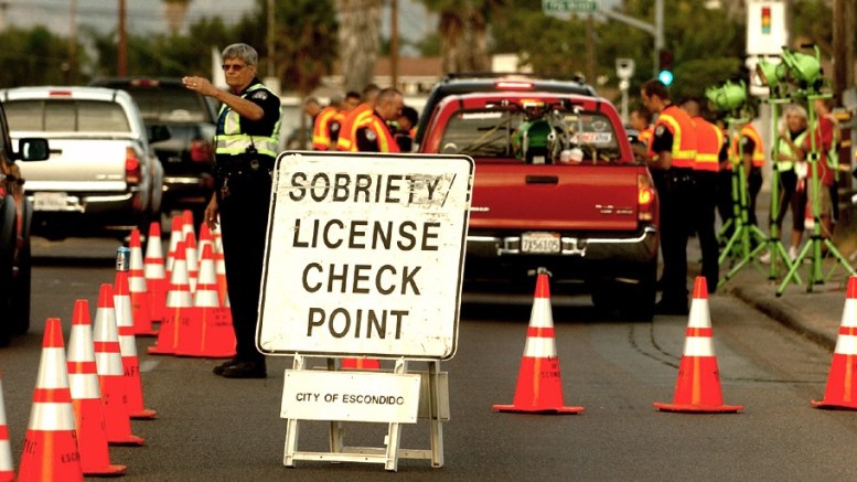Puhleeze: DUI/Driver's License Checkpoint, Sheriff's drones