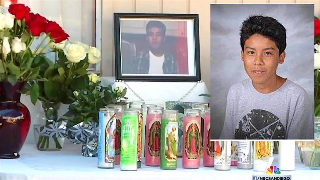 14-year-old Brandon Gonzales was shot to death in a quiet San Marcos neighborhood on Nov. 20, 2105. The killer or killer remain at large.