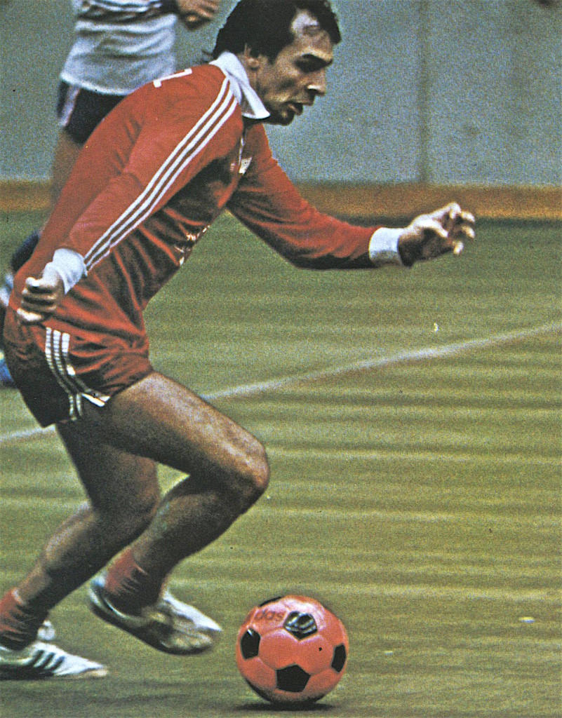 Steve Zungul busts a move with the MISL champion New York Arrows in 1979.