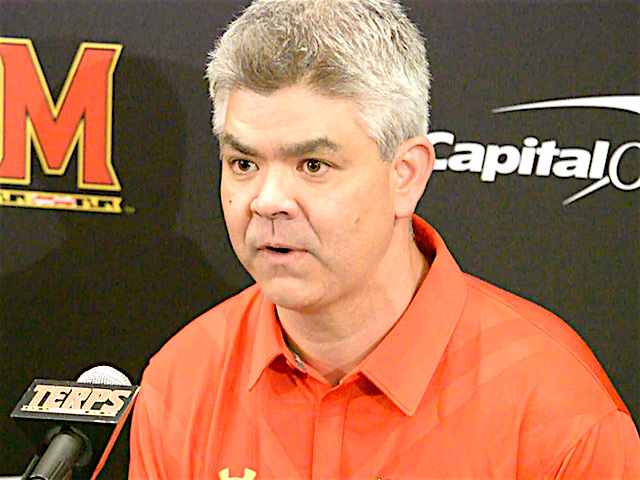 University of Maryland introduces new defensive coordinator Andy Buh on Tuesday.