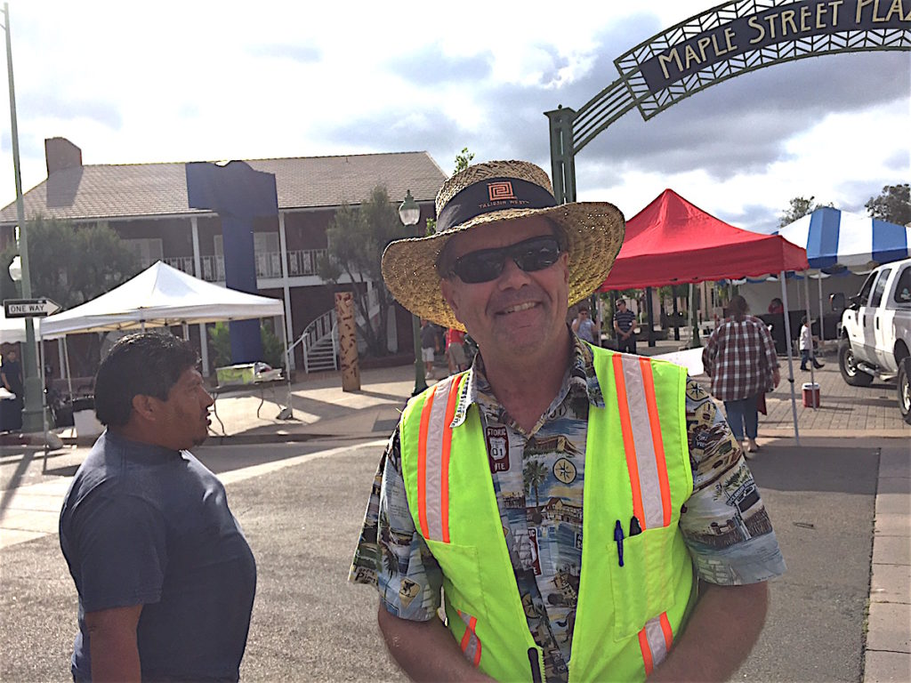 Rick Bauer managed the venue for Kennedy & Associates street fair(e) consultants.