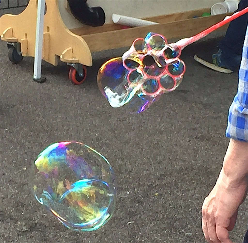 Bubble up!