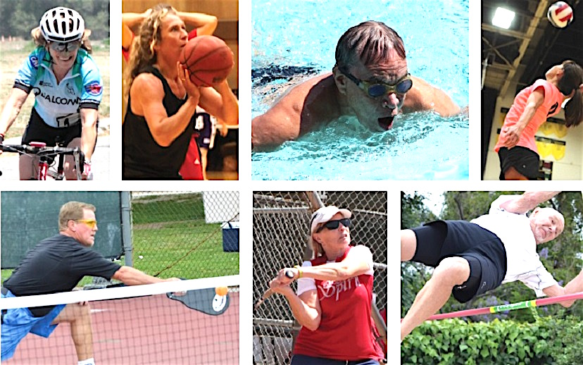 Want to see the Pasadena Senior Games. Go to Escondido in mid-June.