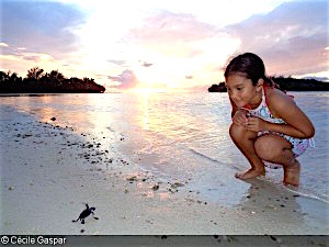 Overall 2015 International World Oceans Day theme winner – Cécile Gaspar (French Polynesia)