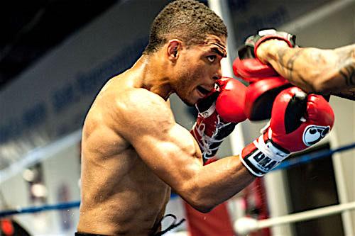 Perez gets it in gear. (Darryl Cobb Jr. / dcobbjr.com)