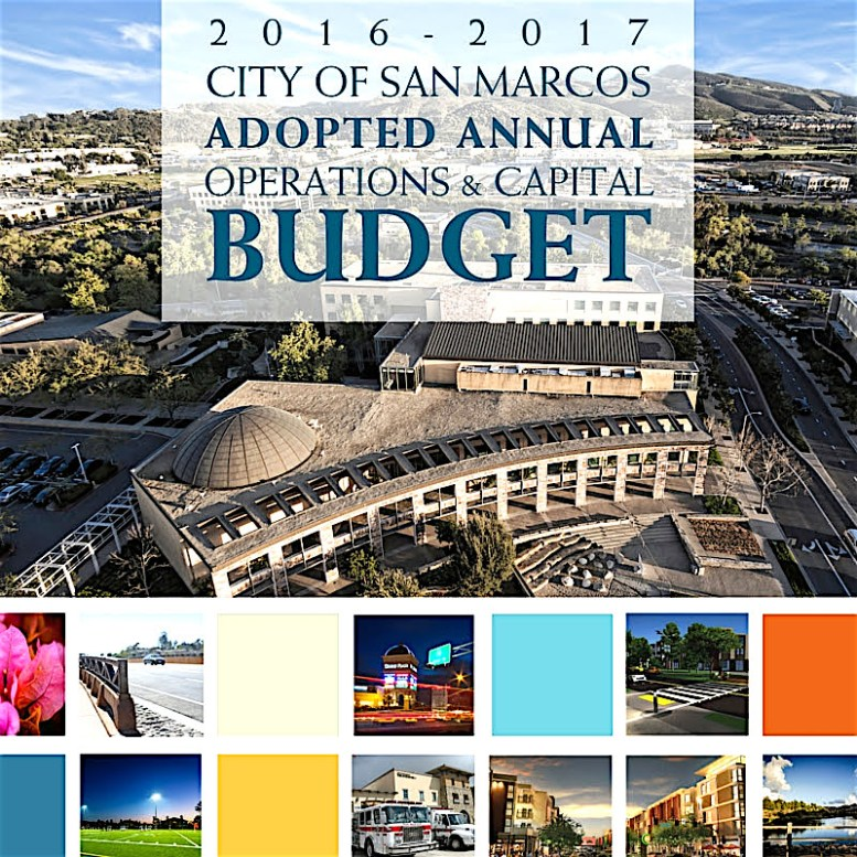 San Marcos budget approved.