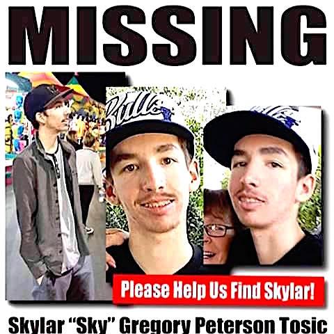 Missing! Help find Sky.