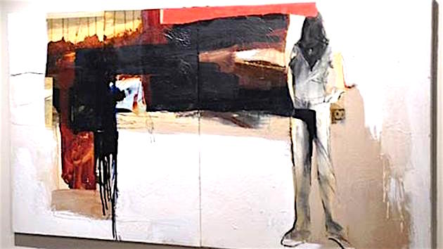 L.A. police seek this painting, stolen in broad light from a local art gallery.