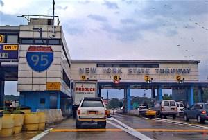 I-95 New Rochelle, NY toll plaza