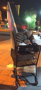 Robert Q. Art Cart/Lifestyle, corner of Broadway and Grand.