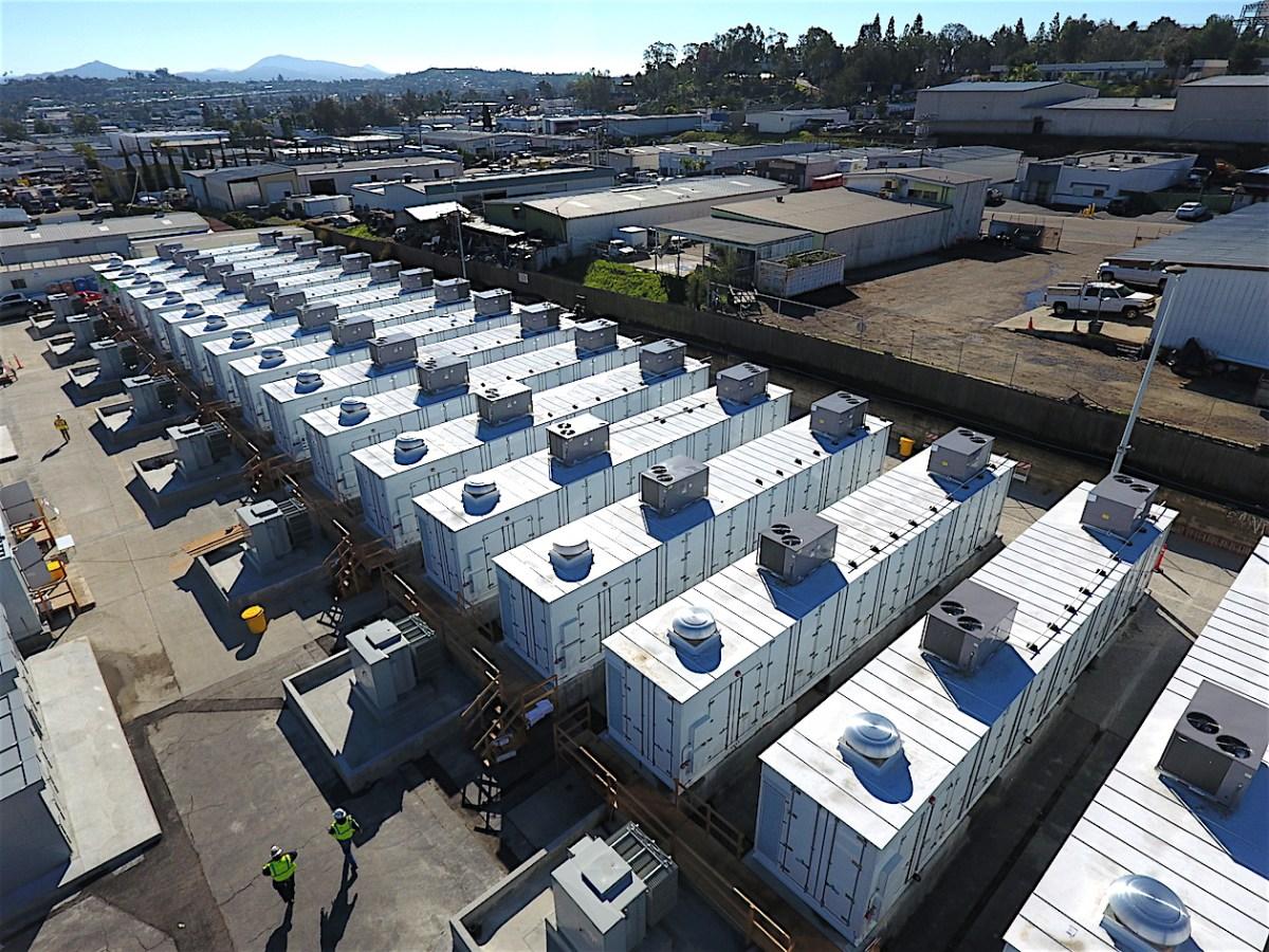 World S Largest Lithium Ion Storage Battery Escondido
