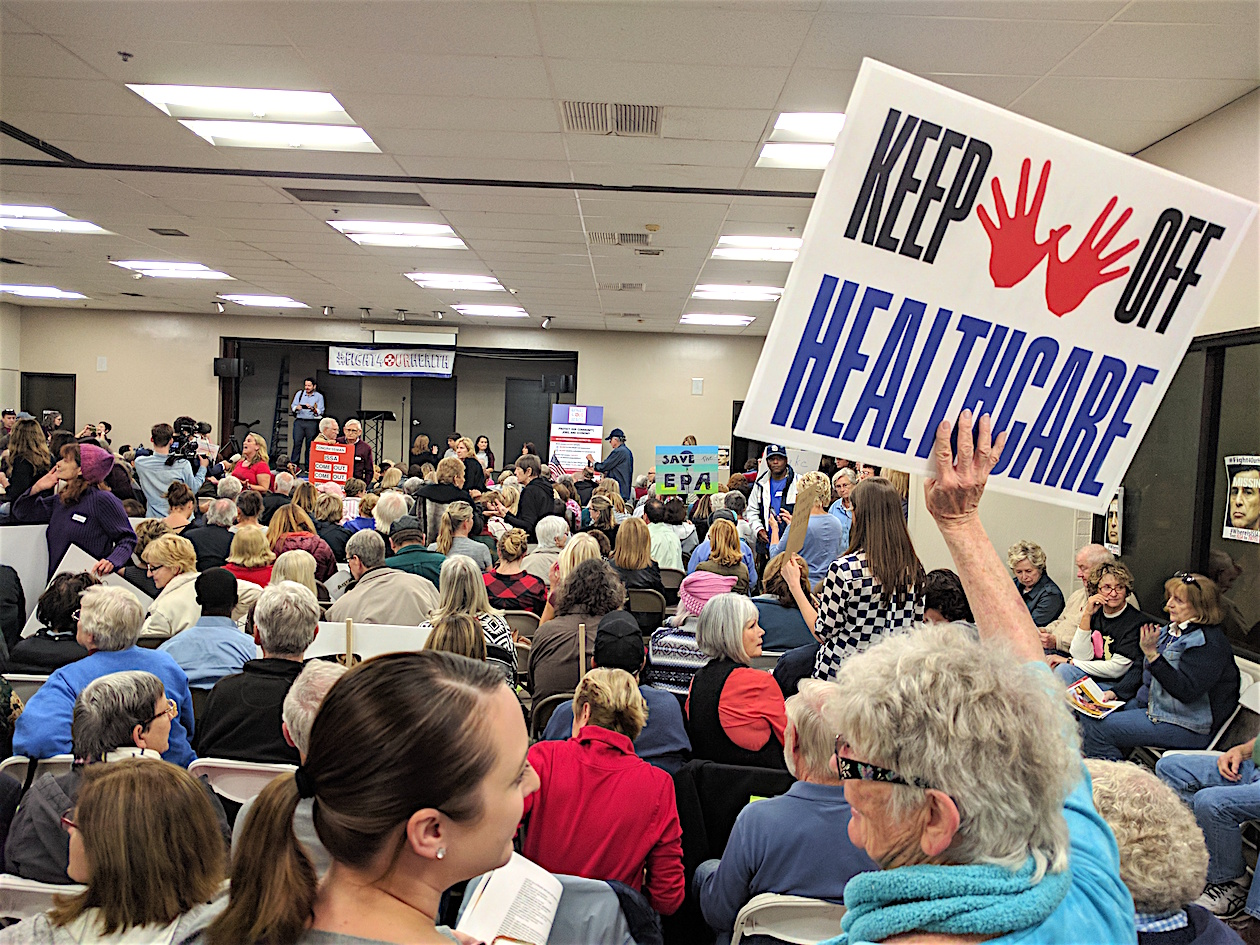 Image result for indivisible town meetings