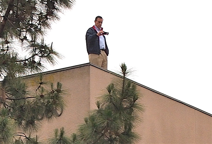 Issa Get Off The Roof Support Free Speech Escondido