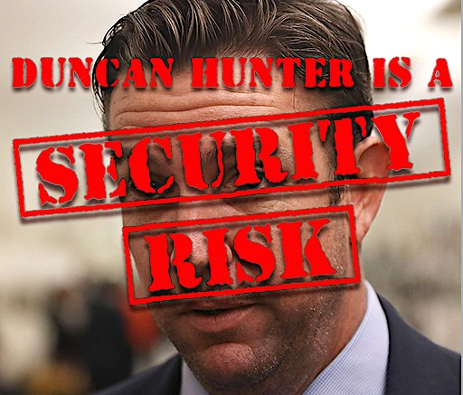 Duncan Hunter is a man on the brink   Escondido Grapevine