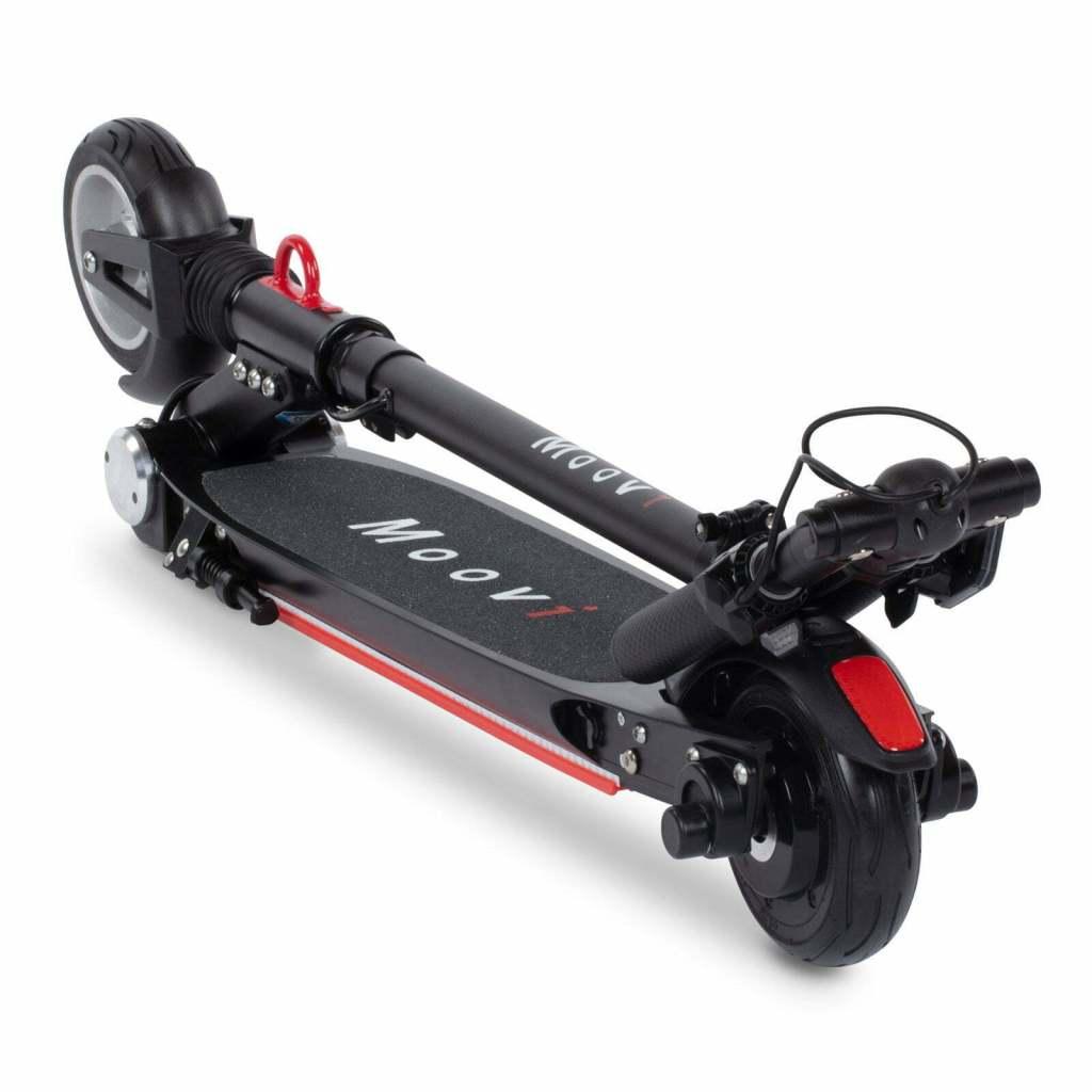 Moovi E Scooter zusammengeklappt