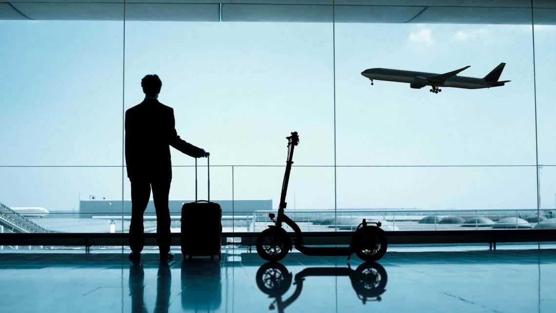 Metz Moover am Flughafen