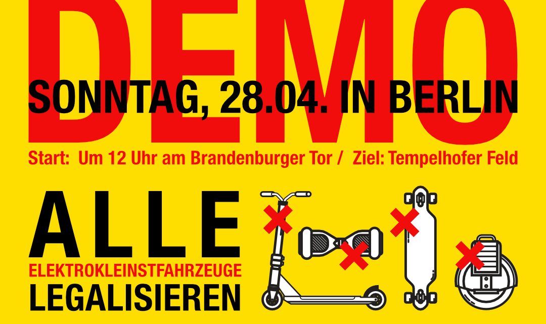 Elektrokleinstfahrzeuge-Demo-Berlin