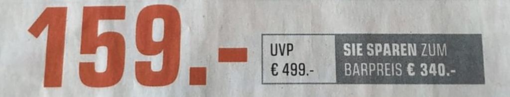 Elektronik Markt Anzeige Preisvorteil
